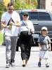 Exclusive... Pregnant Christina Aguilera & Family Go Mini Golfing