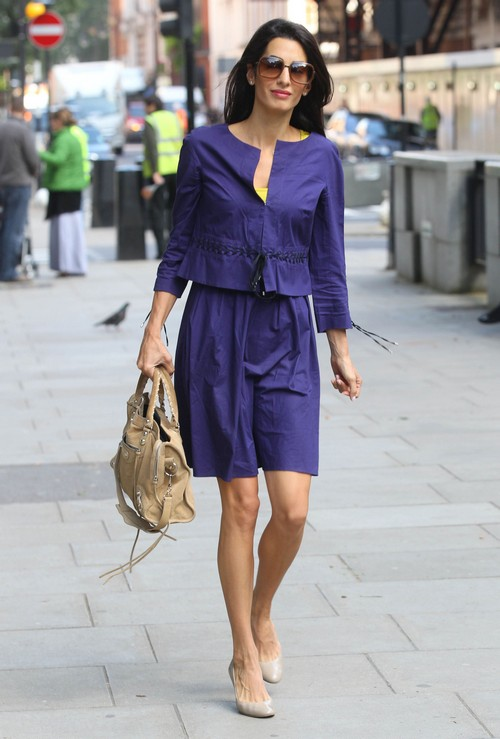 Amal alamuddin losing weight and going hollywood since marrying