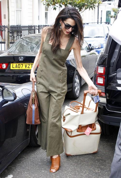 Amal Alamuddin Steps Out In London Celeb Dirty Laundry