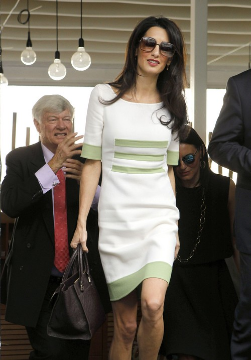 Amal alamuddin weight loss anorexic extreme dieting rumors insecure