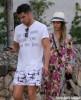 Exclusive... Jessica Alba & Cash Warren Arrive In St. Barts
