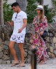 Exclusive... Jessica Alba & Cash Warren Arrive In St. Barts