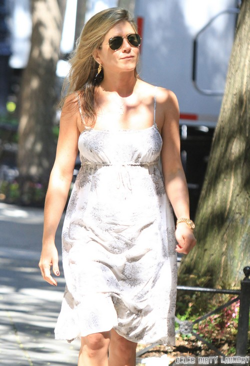 "Jennifer Aniston Films ""Squirrels To The Nuts"""