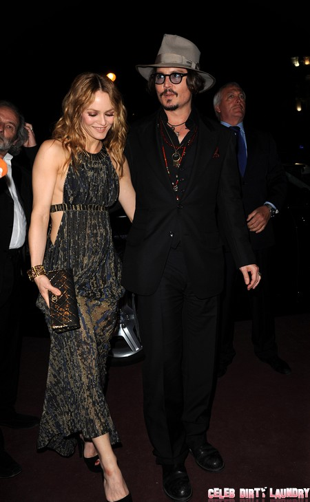 Johnny Depp and Vanessa Paradis Back Together?