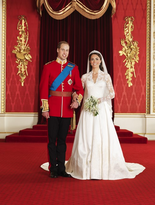 Kim Kardashian Copies Kate Middleton's Alexander McQueen Wedding Gown - Creepy Much?