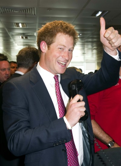 Prince Harry's Date With Mystery Blonde Ruined By Cops 0619