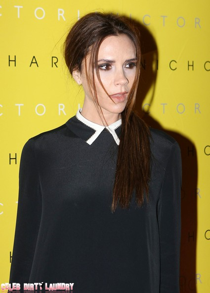 Why Is Victoria Beckham Looking Like The Grinch? (Photos)