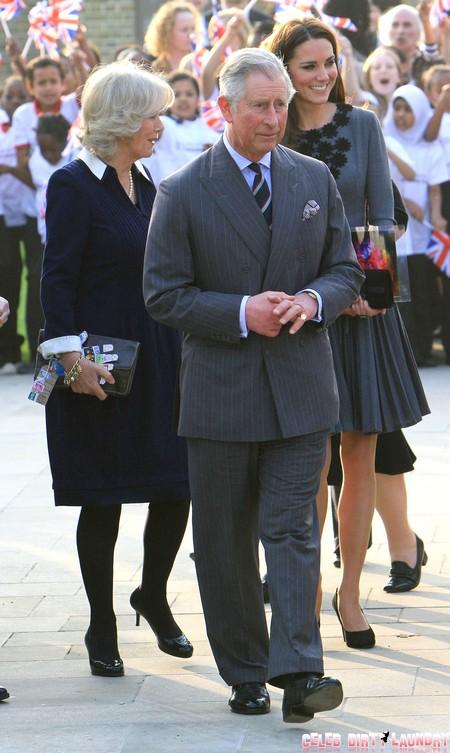 British Royals Meeting School Children At Dulwich Picture Gallery