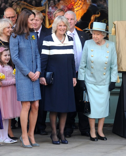 The Royals Visit Fortnum & Mason