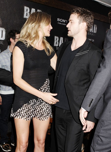 As Cameron Diaz Professes Her Love For Justin Timberlake, Jessica Biel Freaks!