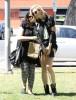Exclusive... Ireland Baldwin & Angel Haze Share A Smooch After Lunch