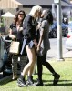 Exclusive... Ireland Baldwin & Angel Haze Share A Smooch After Lunch