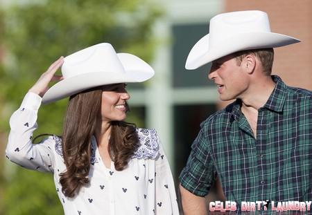 Kate Middleton Upskirt Moment As She Deplanes In Australia! (Photos)