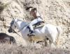 Justin Bieber Goes Horseback Riding At Griffith Park