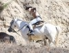 Justin Bieber Goes Horseback Riding At Griffith Park
