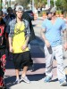 Semi-Exclusive... Justin Bieber Enjoys Miami With His Dad