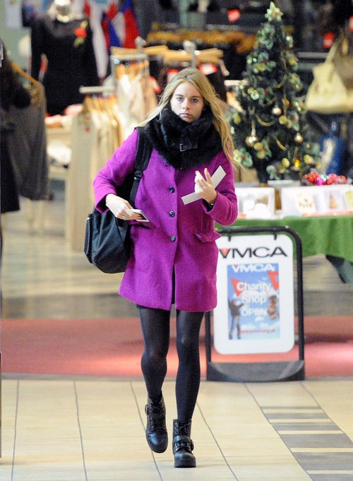 Exclusive... Cressida Bonas Goes Christmas Shopping