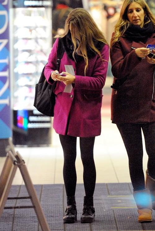 Exclusive... Cressida Bonas Goes Christmas Shopping