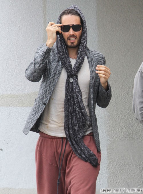 Russell Brand Denies Cheating On Katy Perry
