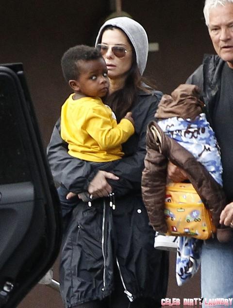 Sandra Bullock's Son Finds New Dad (Photos)
