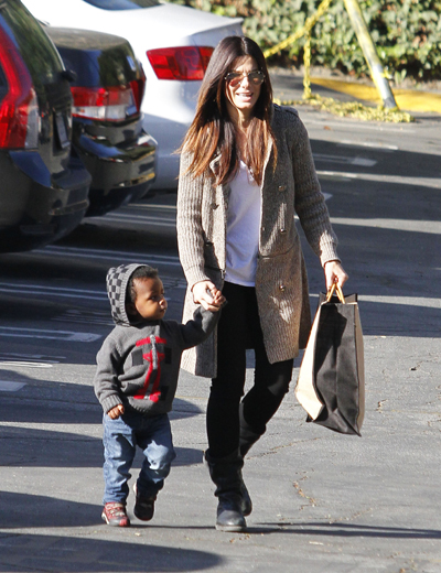 Sandra Bullock Is Ready To Adopt Baby No. 2!
