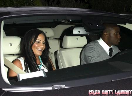 Exclusive... Did Reggie Bush and New Girl Have Awkward Run-in with Ex Kim Kardashian?