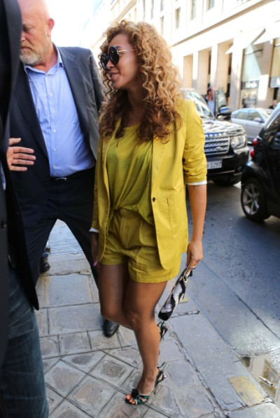 First Pic Of Beyonce's Baby Bump, Singer Pregnant With Second Child 0625