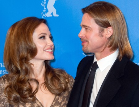 Brad Pitt And Angelina Jolie Quitting Their Day Jobs For Karaoke Careers? 0529