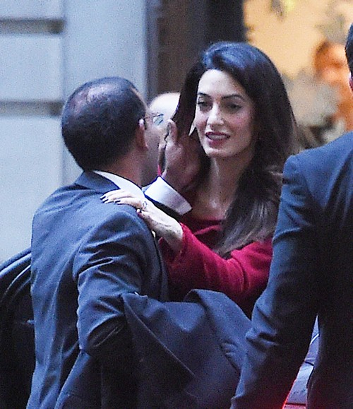 Amal Alamuddin Pregnant: George Clooney Forbids Wife Putting Child In Danger, Wants Amal To Drop ISIS Case?