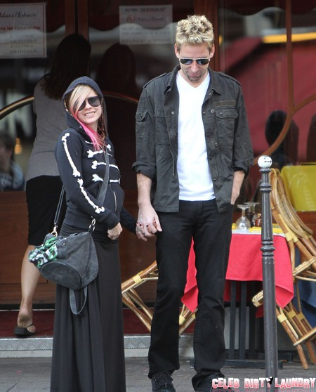 Avril Lavigne And Chad...