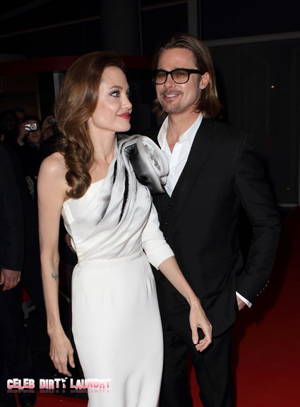 Brad Pitt's Cell Phone Missing With Hot Pictures Of Angelina Jolie