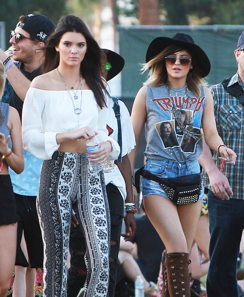 Celebs At Week 2 Of Coachella - Day 2