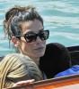 Sandra Bullock & George Clooney Arrive At Venice Film Festival