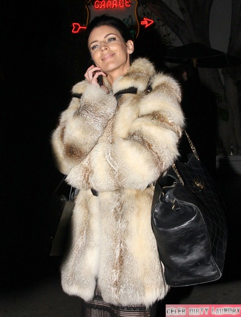 Celebrities Leave The Chateau Marmont