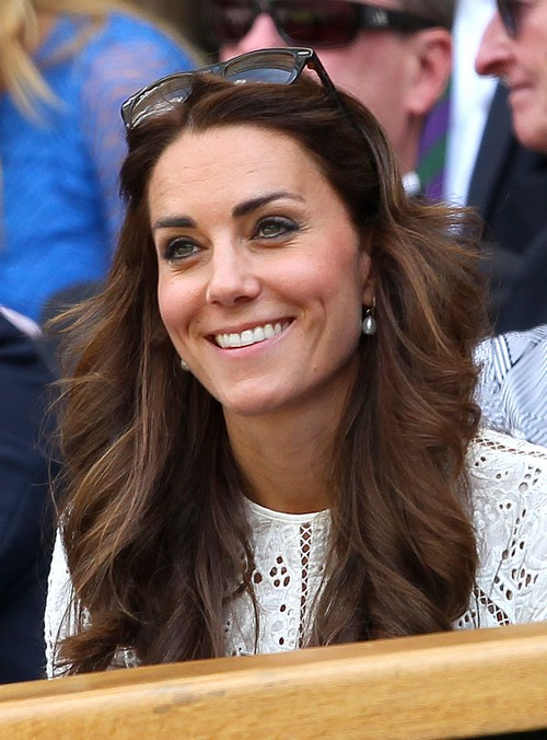 Kate Middleton Wimbledon Photos - Pregnant or Plastic Surgery - Face Puffy and Bloated