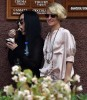 Cher Enjoys Ice Cream With Friends In Italy