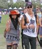 "Celebs at the ""Coachella Music Festival"""