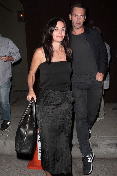 Courteney Cox Amp Johnny Mcdaid Dine Out At Craig S