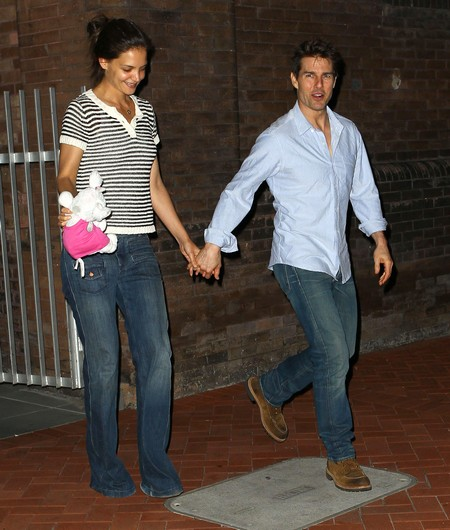 """Katie Holmes Lived """"Tortured"""" Life with Tom Cruise"""