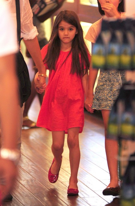 Suri Cruise Enrolled In Lady Gaga's Old School