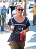 Kaley Cuoco Shows Off Engagement Ring in Sherman Oaks
