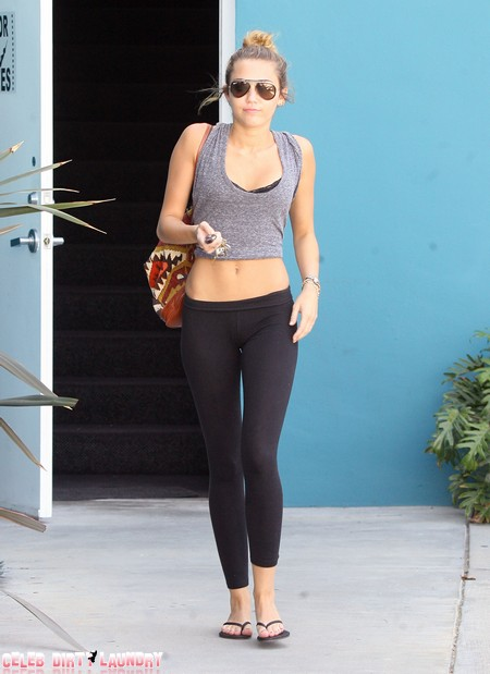 Miley Cyrus' Latest Cry For Attention Is Definitely Anorexia (Photo)