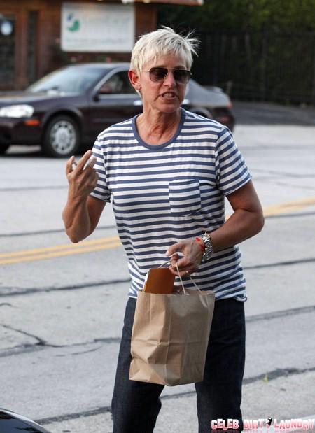 Portia de Rossi Worried Wife Ellen Degeneres Looking Old and Anorexic