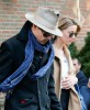 Johnny Depp & Amber Heard Leaving Their New York Hotel