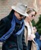 Johnny Depp & Amber Heard Leaving Their New York Hotel