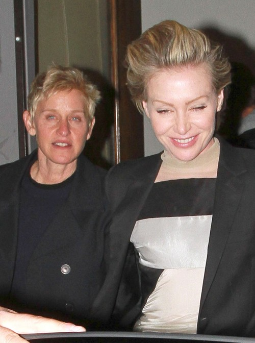 Ellen DeGeneres 'Secretly Mean' - Is This Why Portia de Rossi Wants To Break Up? (PHOTOS)