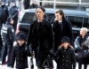 Funeral Service for Celine Dion's Husband Rene Angelil
