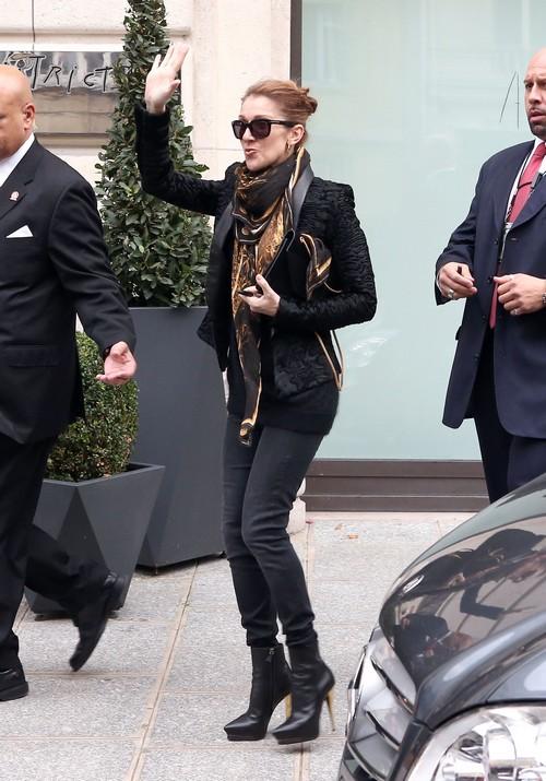 Jennifer Aniston And Brad Pitt 2013 Celine Dion Leaves Her...