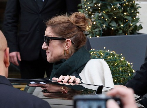 Celine Dion and Rene Angelil Separation and Divorce Proceeds - UPDATE: Still No Husband in Paris and Celine Looks Awful (PHOTOS)