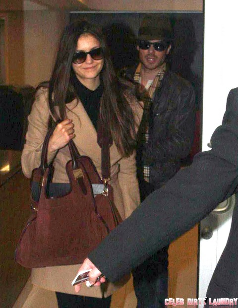 Ian Somerhalder And Nina Dobrev Arrive For China Vacation Without Looking Like Freaks - How Do They Do It? (Photos)